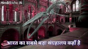 Bharat Ka Sabse Bada Museum kaha hai