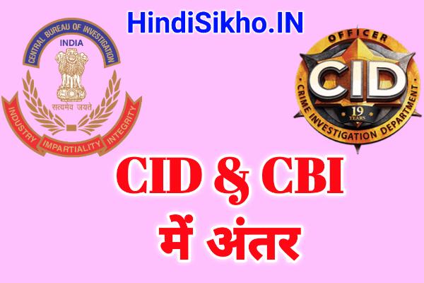 CID or CBI Me Antar