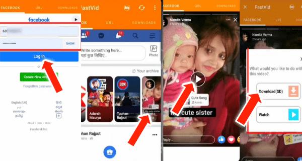 Facebook Status Download Kaise Karen